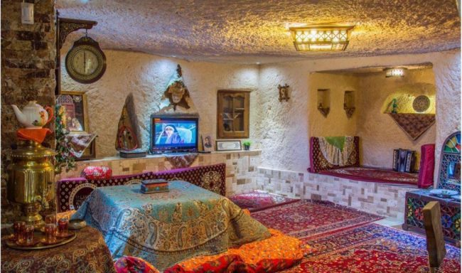 Kandovan is one of the three rock villages of the world.