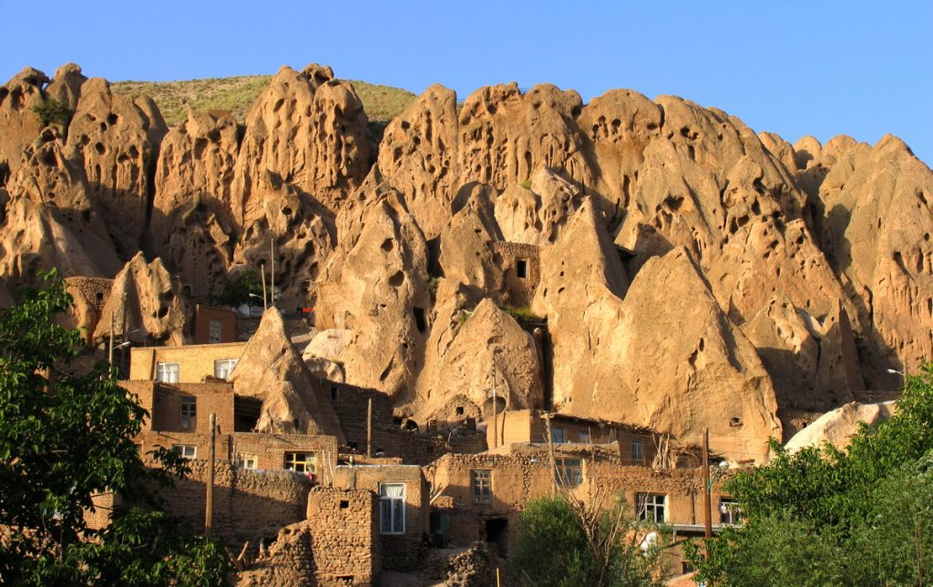 Kandovan, beehives in the mountains