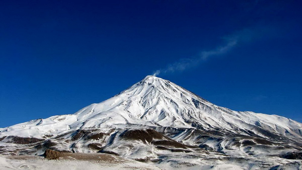 Damavand the highest peak in Iran