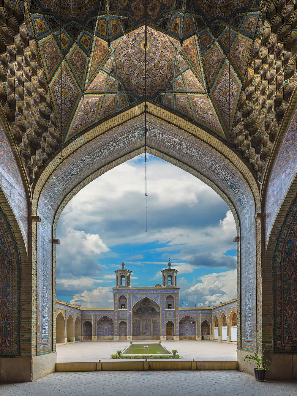 The Grand Mosque of Isfahan