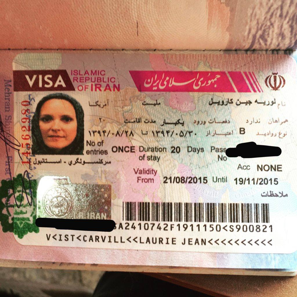 Get a visa to going into Iran