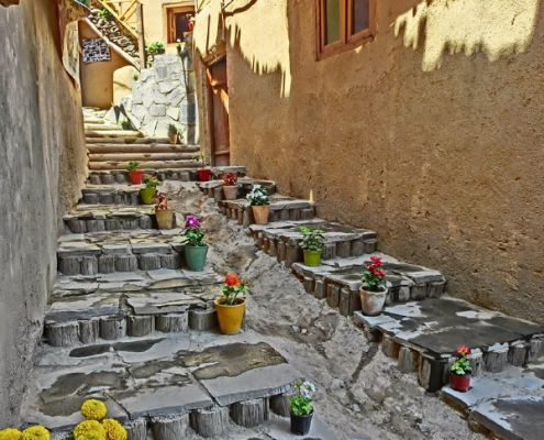 Iranian stepped Villages